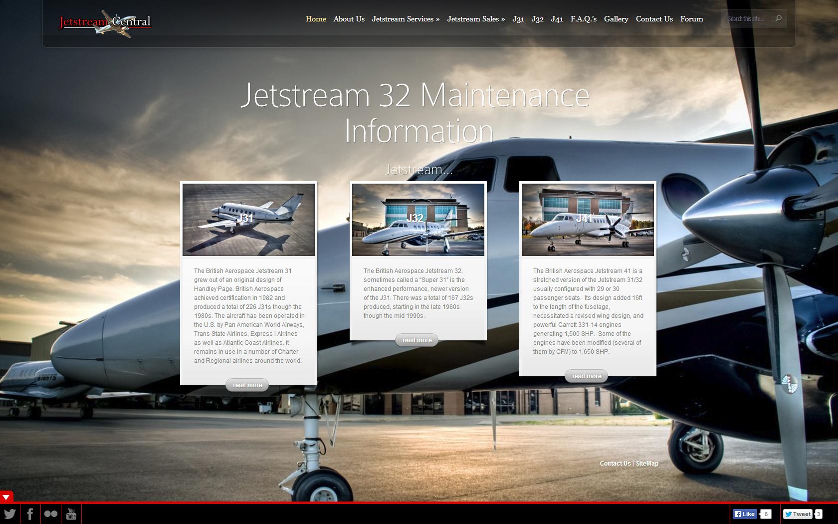 JetstreamCentral Home