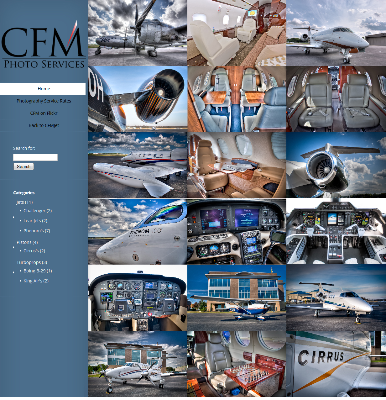 CFM Photo Services Home Page